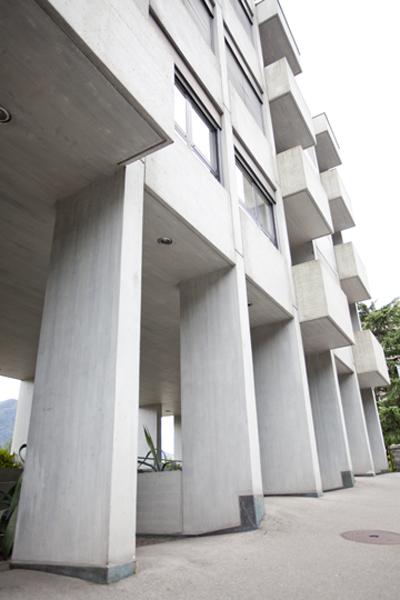 Lugano modern architecture