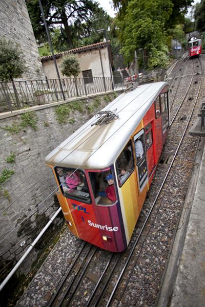 Lugano upper / lower railcar