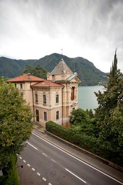 Lugano-lakeside villa