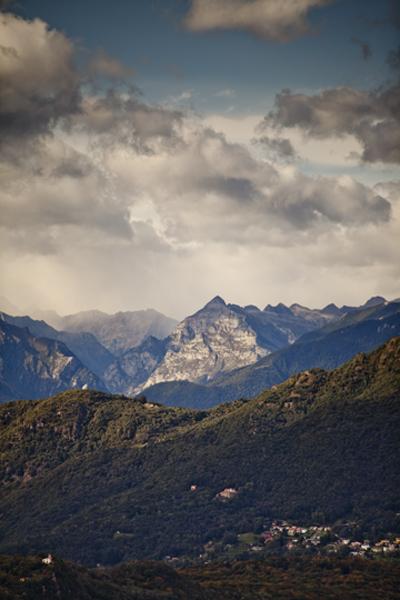 Alps from Monte Brè