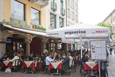 Lugano cafe