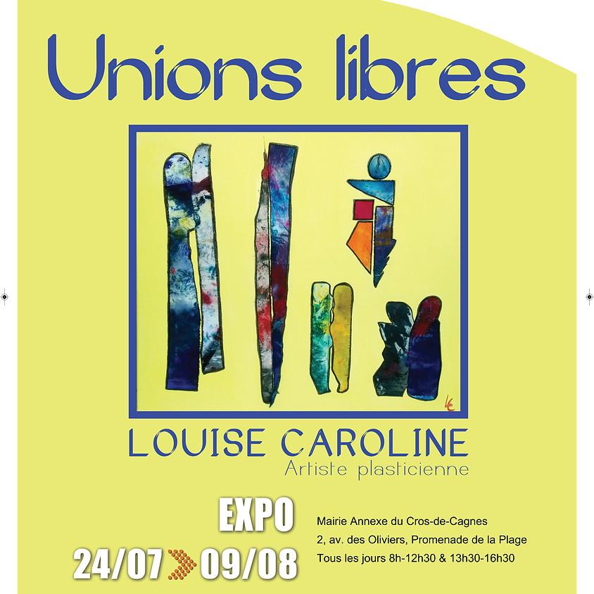 """""""UNIONS LIBRES"""", Salle des mariages Mairie Annexe du Cros de Cagnes"""