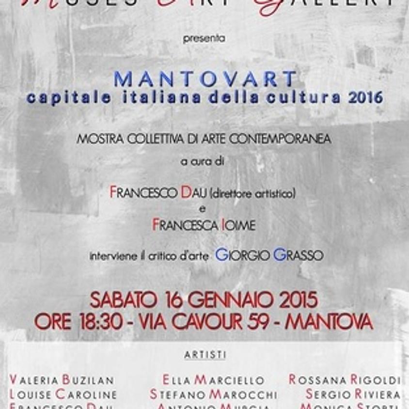 'Mantovart', inauguration par Giorgio Grasso, au Muses Art Gallery