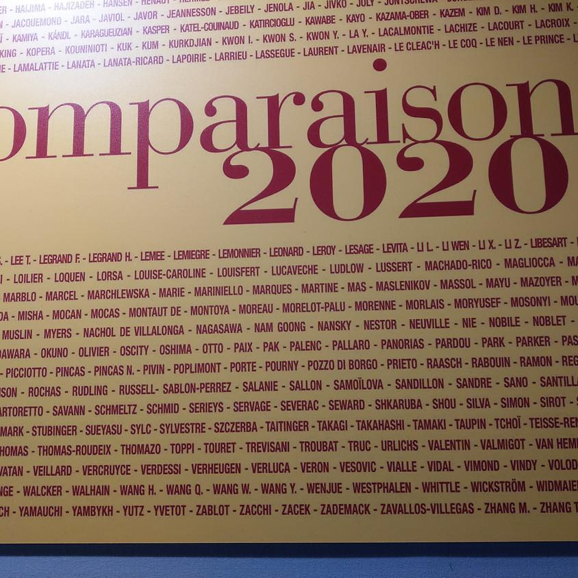 Salon Comparaisons 2020, Groupe Abstraction lyrique