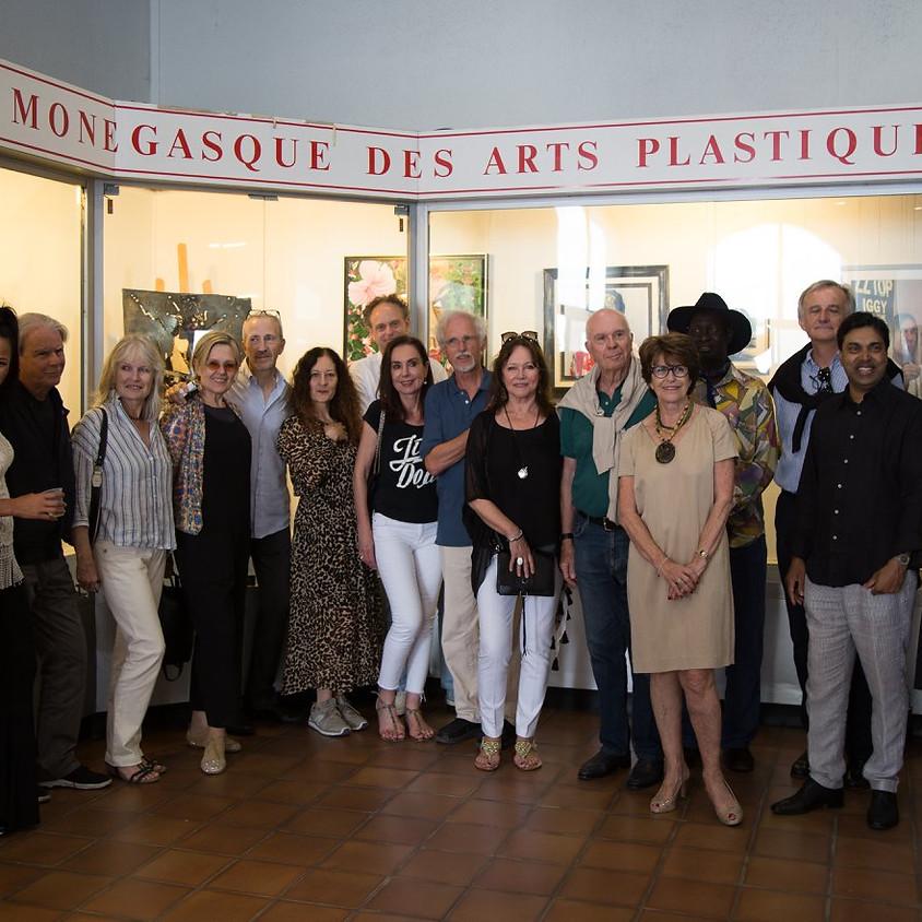 """""""Portraits"""", Galerie des Pêcheurs,  Comité national monégasque de l'AIAP auprès de l'UNESCO"""