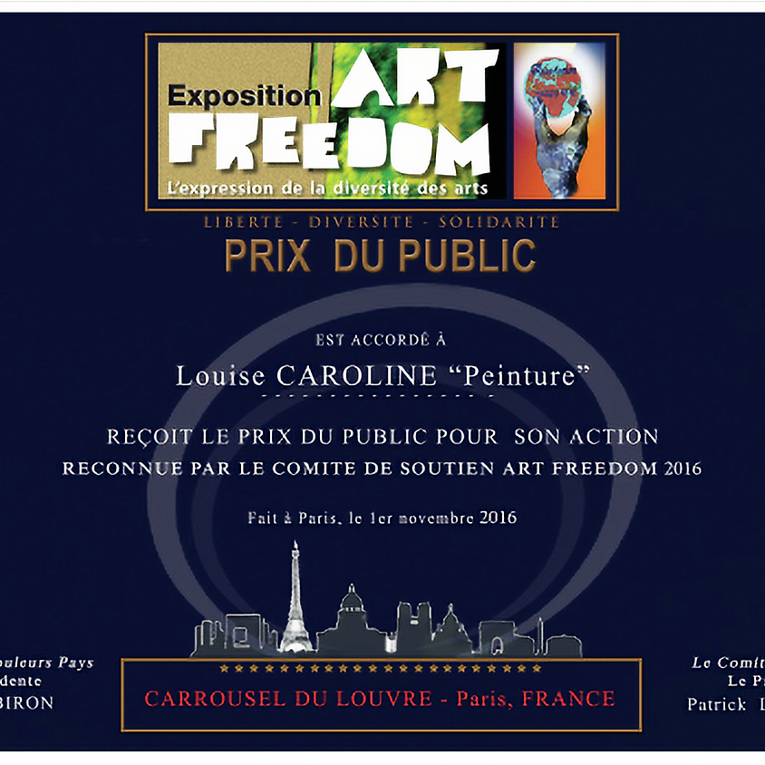 Art Freedom, CARROUSEL DU LOUVRE