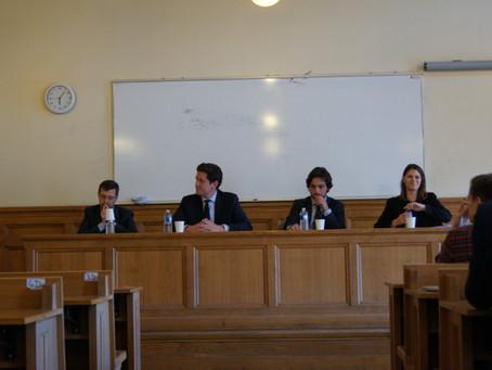 """Conférence """"L'avocat en droit public"""" & Cocktail des anciens"""