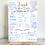 Thumbnail: Blue Hot Air Balloon Milestone Board