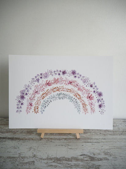 Willow Rainbow .. A4 Print