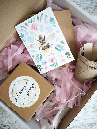 Mimosa Breeze Candle single or gift set