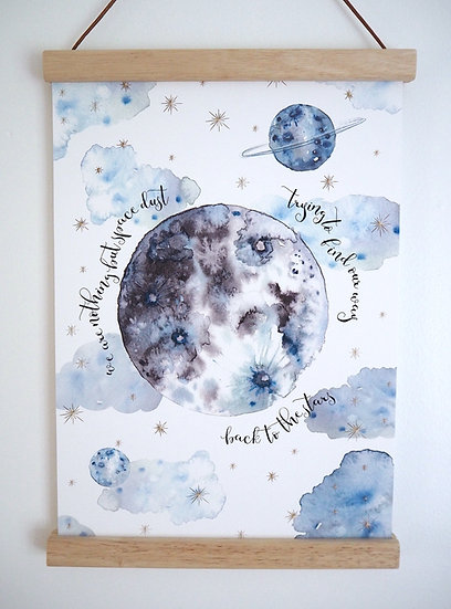 Space Dust print