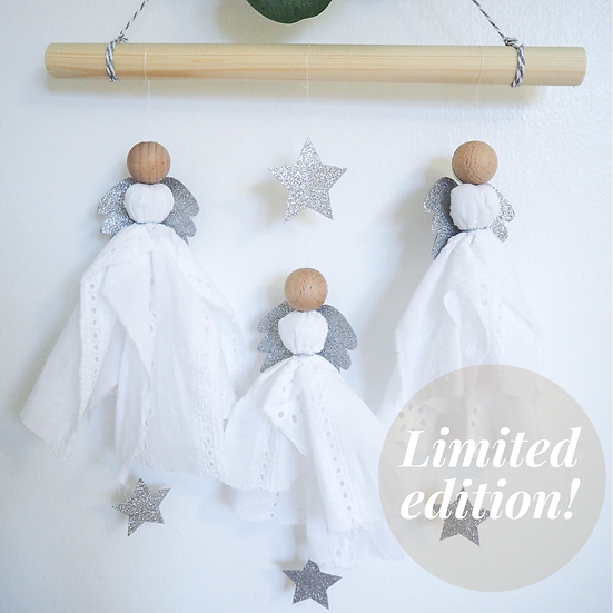 Sparkling Angels Wall Hanging