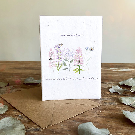 Blooming Lovely Card A6