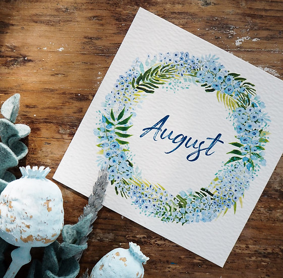 August Wreath