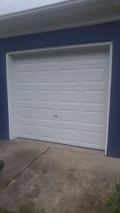 craftmaster garage door raised panel