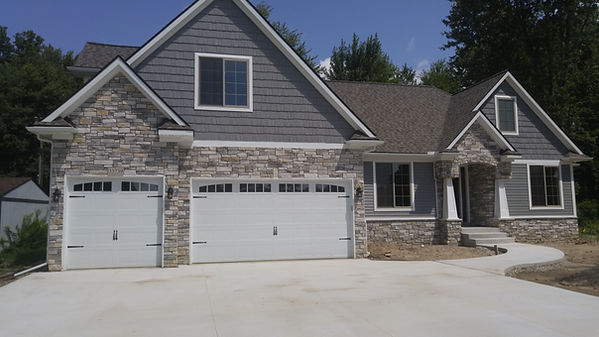 C.H.I. Carriage House style garage doors