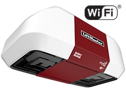 liftmaster belt drive with backup battery