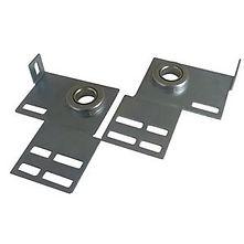 garage door end bearing plates
