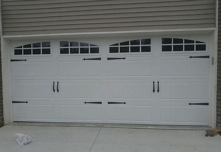 Clopay carriage house garage door