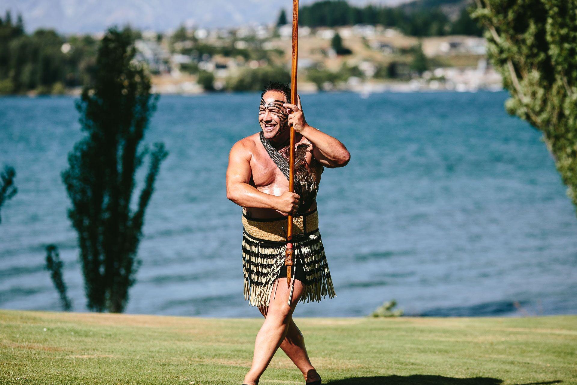 Māori Whakataū/Welcome and Haka (Adult)