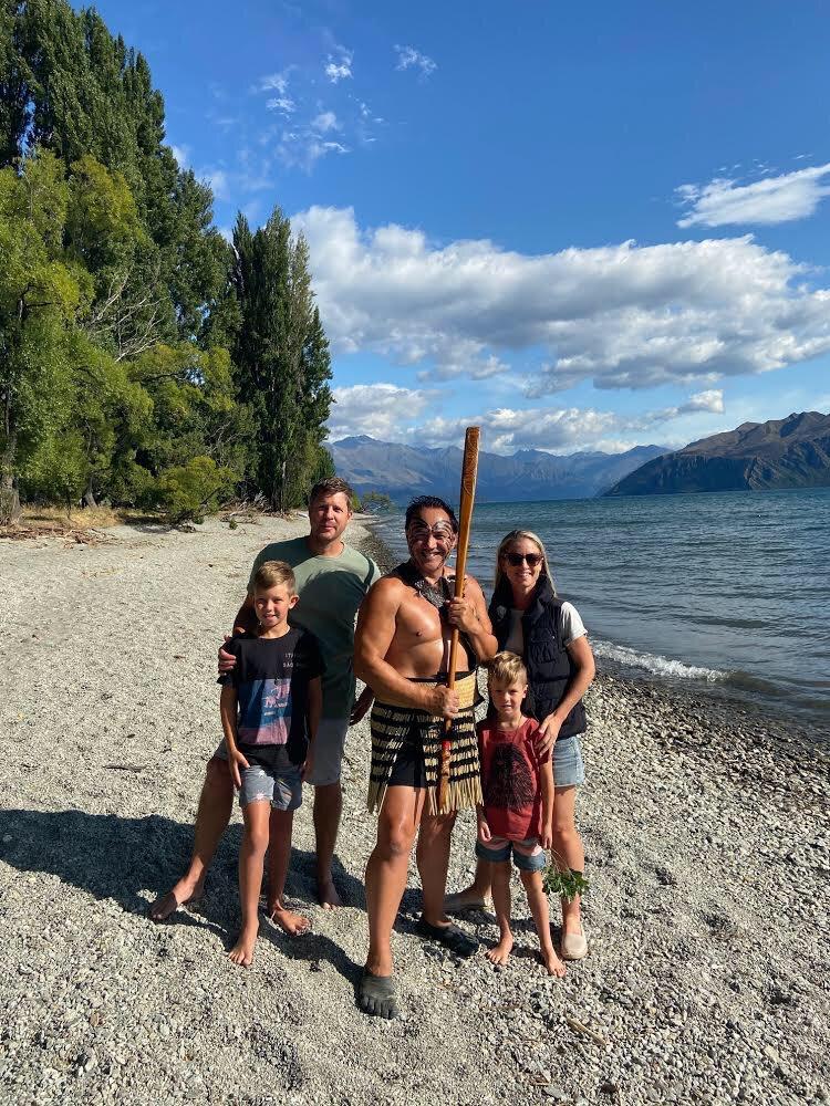 Māori Whakataū/Welcome and Haka-Child<17