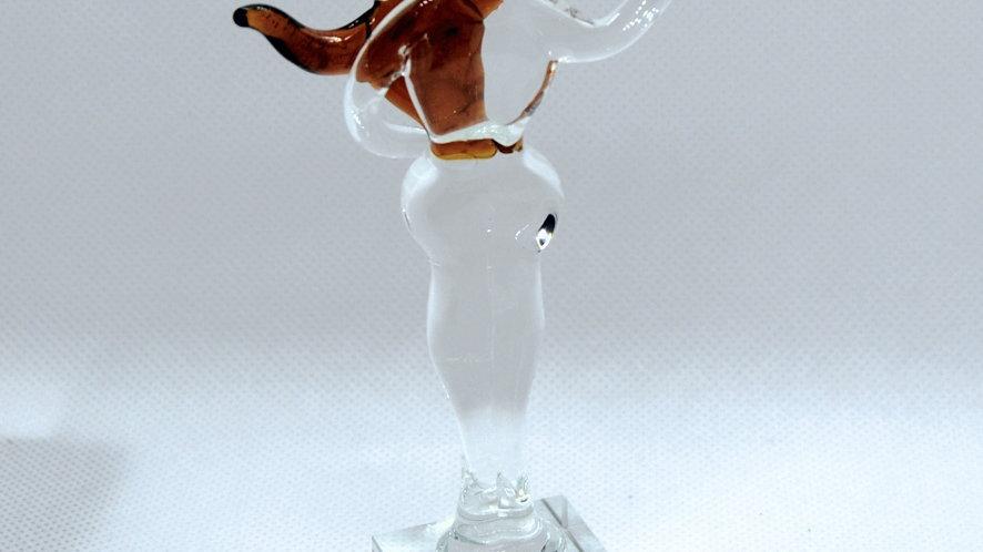 """Glasskulptur """"Paar"""", mundgeblasen"""