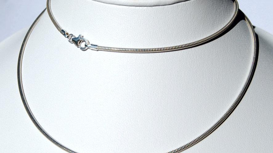 Schlangenkette 925 Sterling Silber