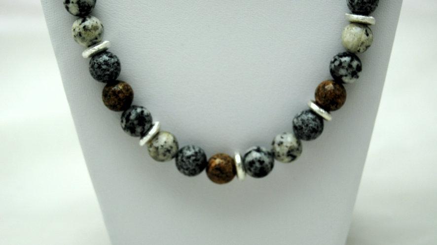 Collier Granit mix