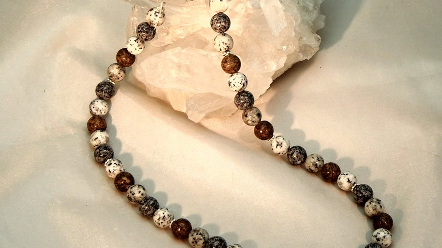 Collier Granit Mix