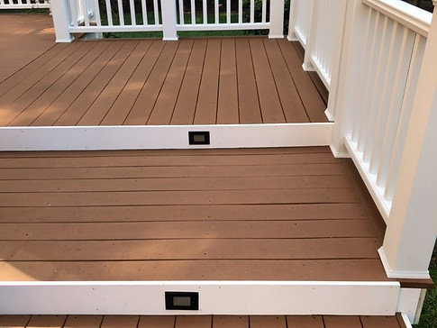 Deck after BV cleaning