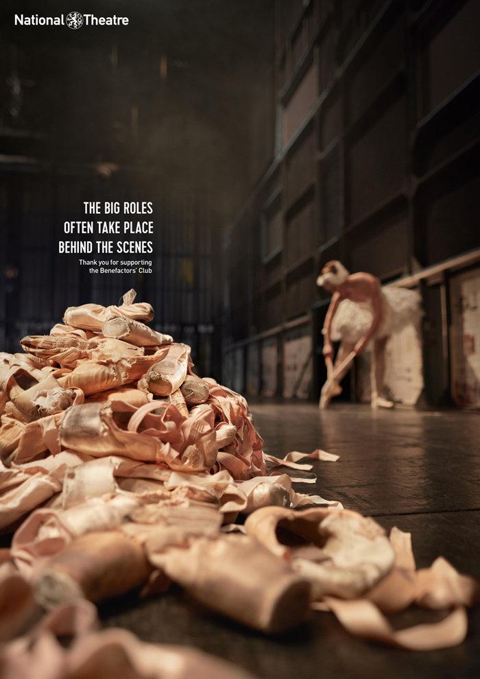 national theatre – print ad