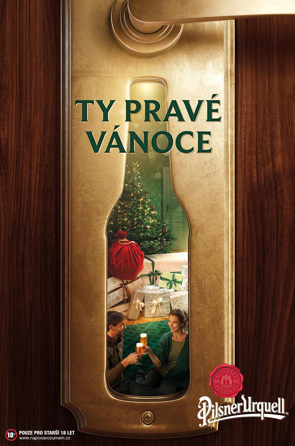 pilsner urquell – christmas print ad