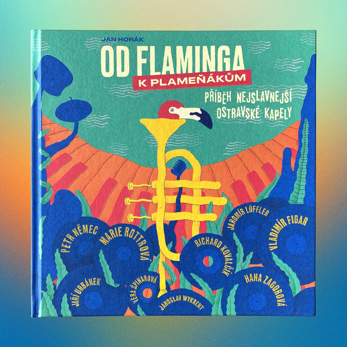 flamingo book design