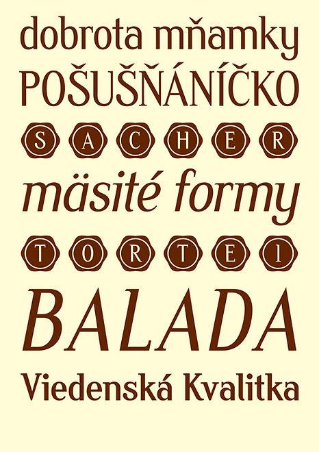 sachertorte typeface