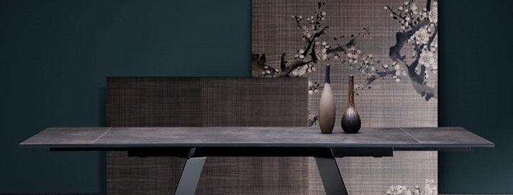 イタリア製 セラミックダイニングテーブル伸長式 KO 180cm→220cm→260cm