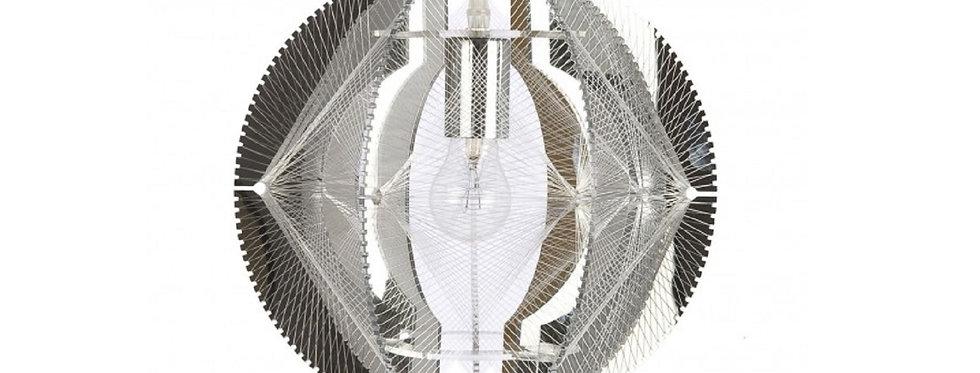 【在庫処分SALE】The wire suspension M - CHROME【シャンデリア】