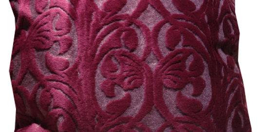 Fabrick CUSION No.3-0310 オリエンタル柄 レッド 45cm角クッションカバー