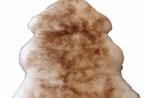 Mouton rug champagnegold No.11-454