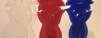 【在庫処分SALE】イタリア製 emporium社 モダンデザイン テーブルスタンド ひまわり