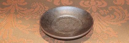 【日本/和風】【陶器/Eartheware】【プレート/皿/小皿/】【ハンドメイド/Handmade】【職人】炭華 11センチメートルプレート