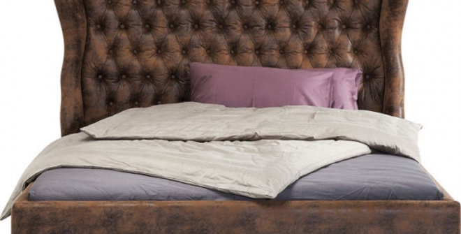 bed Dark Brown 160×200,180×200,200×200 ダブルベッド 高級輸入ベッド
