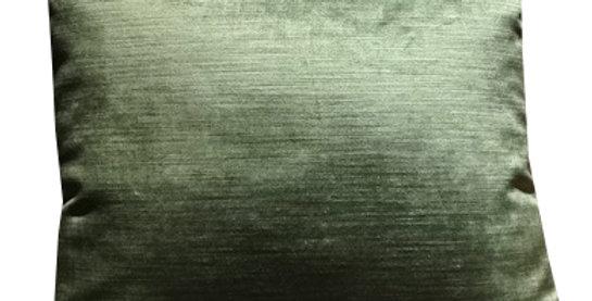 Fabrick CUSIONo.3-121 Velvetクッション イエローグリーン