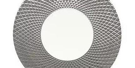 Luzerne COL LEONIS(コルレオニス) 30.5cm ショープレートプラチナ/ホワイト 、CL5132PW