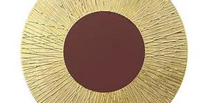 LUCIFER(ルシファー) 30.5cm ショープレート ゴールド/ブラウン、 LF5133GB