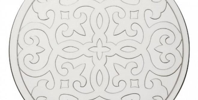Luzerne ゴールドプラチナ GR5131WP ホワイト/シルバー