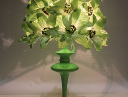 【在庫処分SALE】Bloom too lamp de table - VERT【テーブルランプ】
