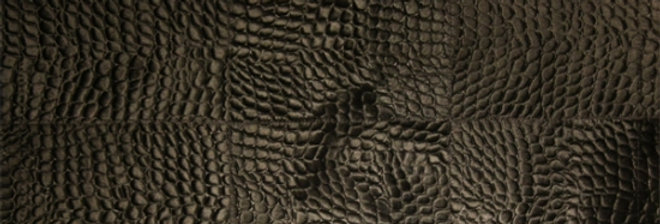【在庫処分SALE】CARPET Design squeeze black croco No.11-484