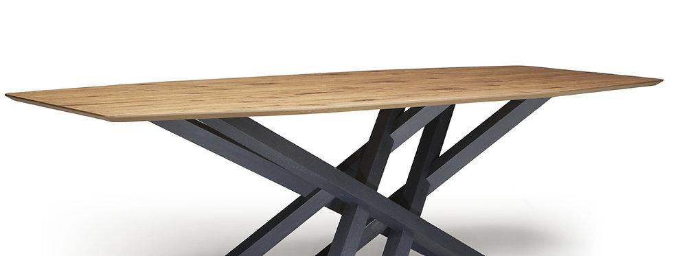 イタリア製 木製天板 ダイニングテーブル CR   輸入ダイニングテーブル