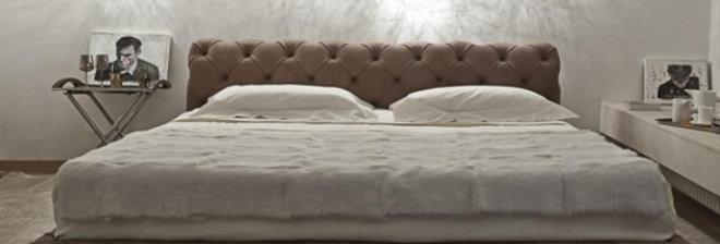 bed HARRI-90 ダブルベッド 高級輸入ベッド