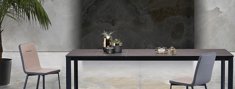 イタリア製 セラミックダイニングテーブル SP 伸長式